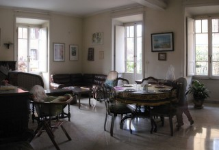ante operam, renovation, living room
