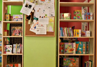 libreria per la Bottega delle Storie, Roma